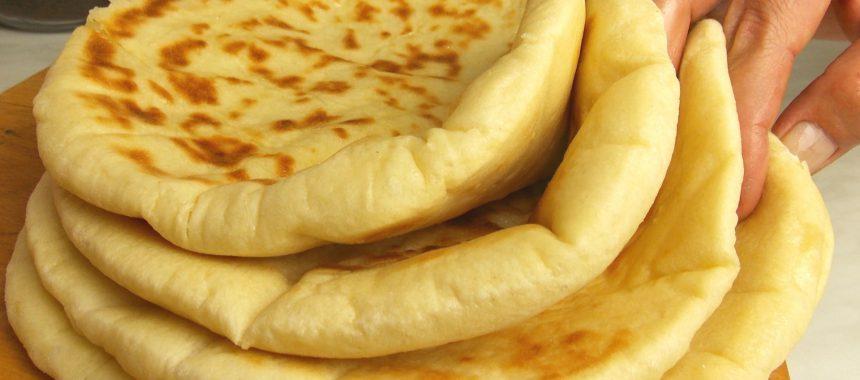 Bazlama – Turkish flatbread