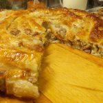 Meat pie  (Phyllo dough) – Böreği